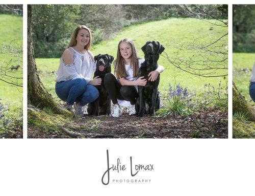 Family and Dog Lifestyle Portrait session