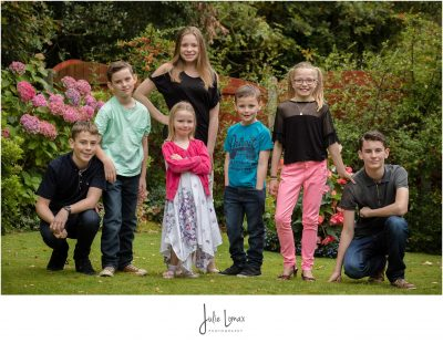 Family Portraits, 70th Birthday Portrait, back garden Portrait, Blackburn Photographer
